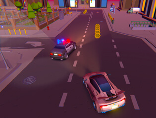 igra 2 Player City Racing