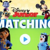 igra disney junior – matching