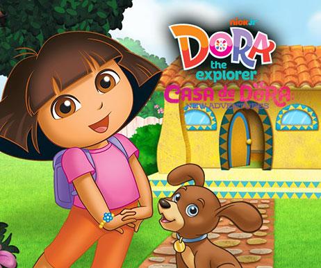 dora the explorer casa de dora: new adventures