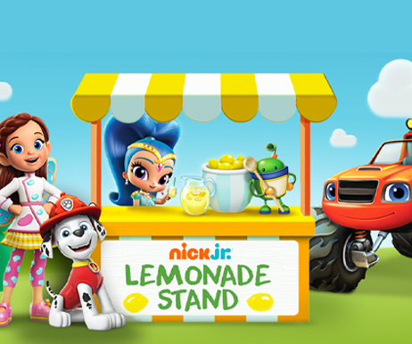 paw patrol lemonade stand